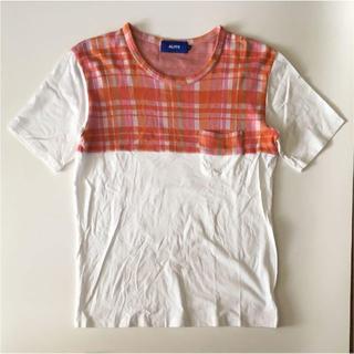 アロイ(ALOYE)のALOYE ポケット Tシャツ(Tシャツ/カットソー(半袖/袖なし))