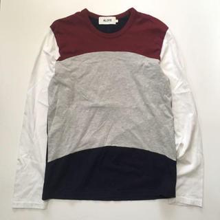 アロイ(ALOYE)のALOYE ロング Tシャツ(Tシャツ/カットソー(半袖/袖なし))