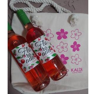カルディ(KALDI)のカルディ さくらバッグ ワイン(ワイン)