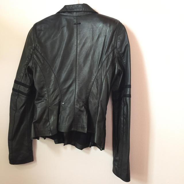 DIESEL(ディーゼル)の【新品未使用】DIESEL  ライダースジャケット レディースのジャケット/アウター(ライダースジャケット)の商品写真