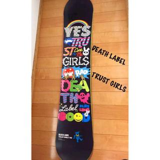 アライアン(ALLIAN)のDEATH LABEL TRUST GIRLS  142cm(ボード)