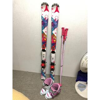 アトミック(ATOMIC)のスキー板 セット 130セン(板)