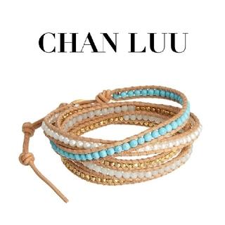 チャンルー(CHAN LUU)のCHAN LUU  ストーンパールミックス 5連ラップブレスレット(ブレスレット/バングル)
