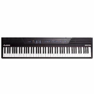 中古品 Alesis 電子ピアノ 88鍵盤 + ペダル.カバー(ピアノ)