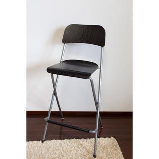 イケア(IKEA)の【まいまいさん専用】IKEA ハイチェア ブラック 完組品 イケア イス チェア(折り畳みイス)