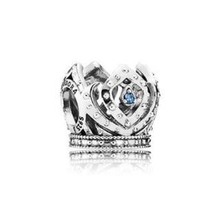 ディズニー(Disney)の Pandora 限定 ディズニー  アナ雪 エルサ王冠チャーム(チャーム)