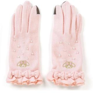 サンリオ(サンリオ)のピンク パール マイメロディ  手袋(手袋)