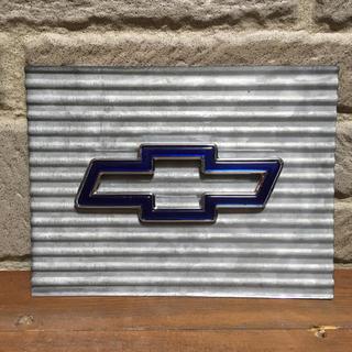シボレー(Chevrolet)のレア シボレー ボウタイエンブレムオブジェ chevrolet (車外アクセサリ)