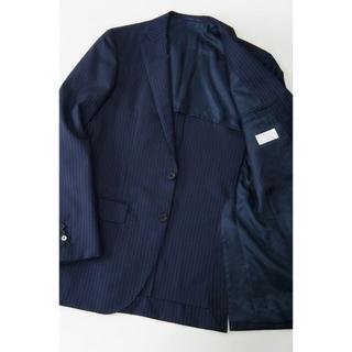 エディフィス(EDIFICE)の人気 エディフィス 紺色 ストライプ スーツ(セットアップ)