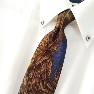 ジャンフランコフェレ(Gianfranco FERRE)のGIANFRANCO FERRE シルク 総柄 ネクタイ イタリア製(ネクタイ)