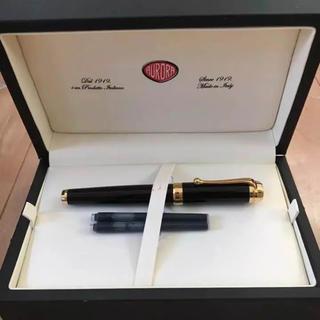 アウロラ(AURORA)の未使用 アウロラ 万年筆 タレンタム ブラック ゴールド(ペン/マーカー)