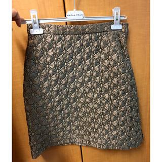 パオラフラーニ(PAOLA FRANI)の新品 PAOLA FRANI スカート 40サイズ(ひざ丈ワンピース)