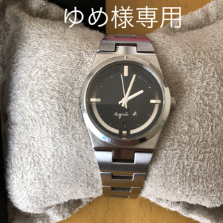 アニエスベー(agnes b.)のアニエスベー アナログ腕時計(腕時計)