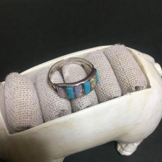 インディアン(Indian)のインディアンジュエリー シェルリング(リング(指輪))