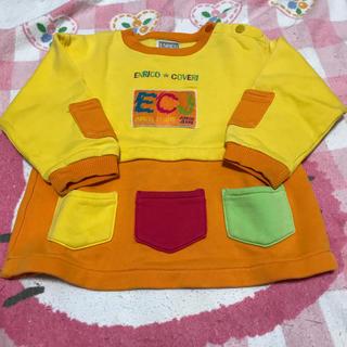 エンリココベリ(ENRICO COVERI)のエンリココベリ 90cm トレーナー(Tシャツ/カットソー)