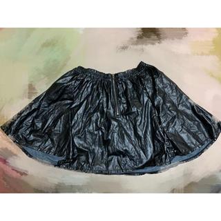 アベイル(Avail)のフェイク レザー スカート ぽっちゃり 4L(ミニスカート)