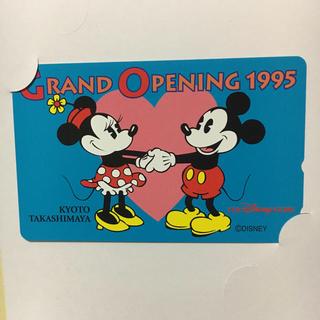 ディズニー(Disney)のディズニーストア テレカ 未使用 オープニング1995 ミッキー ミニー(その他)