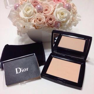 timeless design a678b 4491c Dior プレストパウダー💕