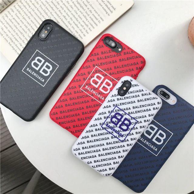 iphone7plus ケース spigen | Balenciaga - BB case for iPhoneの通販 by てつハウス|バレンシアガならラクマ