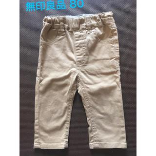 ムジルシリョウヒン(MUJI (無印良品))の無印良品 クロップドパンツ 80(パンツ)
