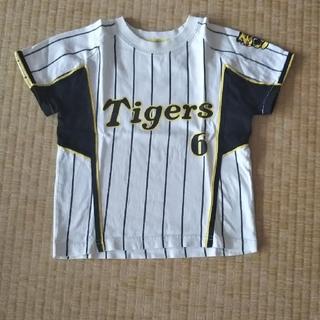 ハンシンタイガース(阪神タイガース)の値下げ 阪神タイガース 100 キッズ(応援グッズ)