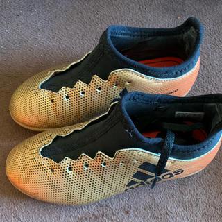 アディダス(adidas)のサッカースパイク 19センチ(サッカー)