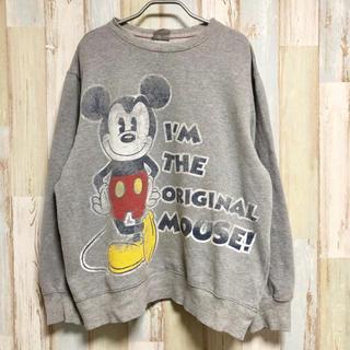ディズニー(Disney)の【L】アメリカ古着 ディズニー ミッキー Disney(スウェット)