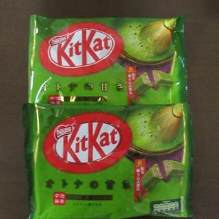 ネスレ(Nestle)のキットカット オトナの甘さ 抹茶2袋セット(菓子/デザート)