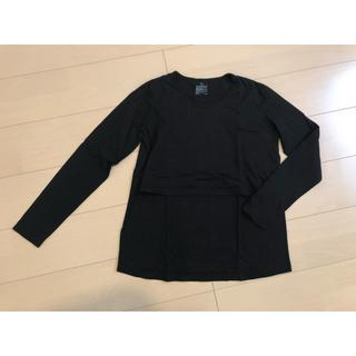 ムジルシリョウヒン(MUJI (無印良品))の無印良品 授乳口付き Tシャツ(マタニティトップス)