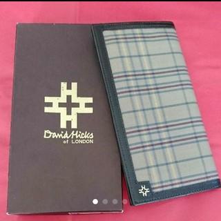 デビッドヒックス(David Hicks)のデービッドヒックス 長財布(長財布)