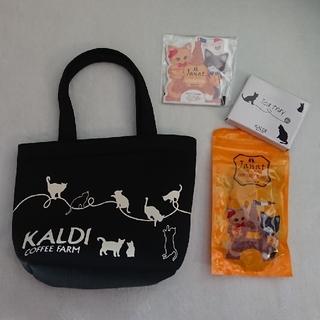 カルディ(KALDI)のカルディ  猫 ネコ ねこ の日バッグ  (トートバッグ)