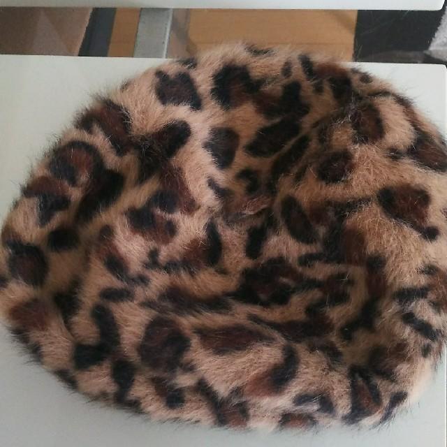 CECIL McBEE(セシルマクビー)の毛80%ベレー帽 CECIL McBEE レディースの帽子(ハンチング/ベレー帽)の商品写真