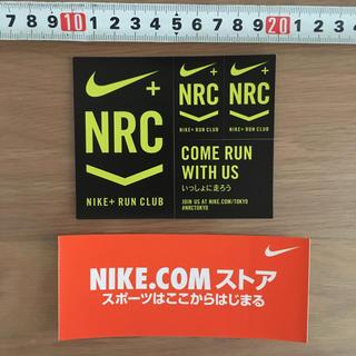 ナイキ(NIKE)のNike NRC ステッカー シール ノベルティ(ノベルティグッズ)