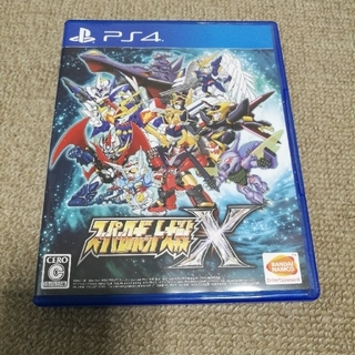 プレイステーション4(PlayStation4)のスーパーロボット大戦X PS4(家庭用ゲームソフト)
