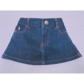 ポロラルフローレン(POLO RALPH LAUREN)のラルフローレン ♡デニムスカート♡パンツ付き(スカート)