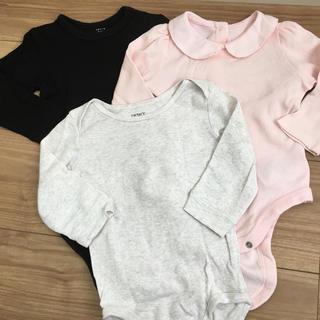 ベビーギャップ(babyGAP)の長袖ロンパース 3枚(ロンパース)