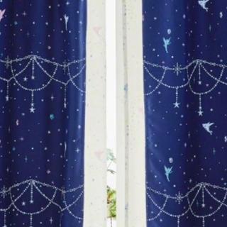 ディズニー(Disney)の*あやのぱぱ様専用   カーテン  (暗闇で光る ディズニー ティンカーベル)(カーテン)