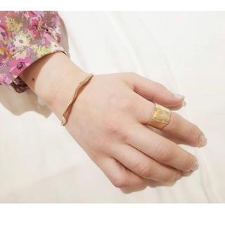 フラワー(flower)のgold ring ❤︎(リング(指輪))