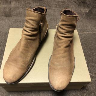 パドローネ(PADRONE)のPADRONE サイドジップブーツ(ブーツ)