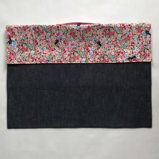 【ハンドメイド】防災頭巾カバー(イスの背もたれに被せるタイプ) ネームテープ付き(その他)