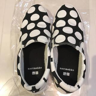 マリメッコ(marimekko)のマリメッコ marimekko 靴 シューズ 24.5(スリッポン/モカシン)