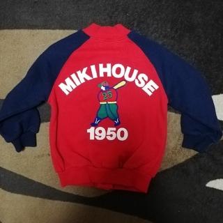 ミキハウス(mikihouse)のミキハウス スタジャン 90サイズ(ジャケット/上着)