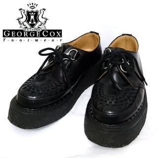 ジョージコックス(GEORGE COX)のGEORGE COX ラバーソール UK5 3588 ブラック 黒 24 25(その他)