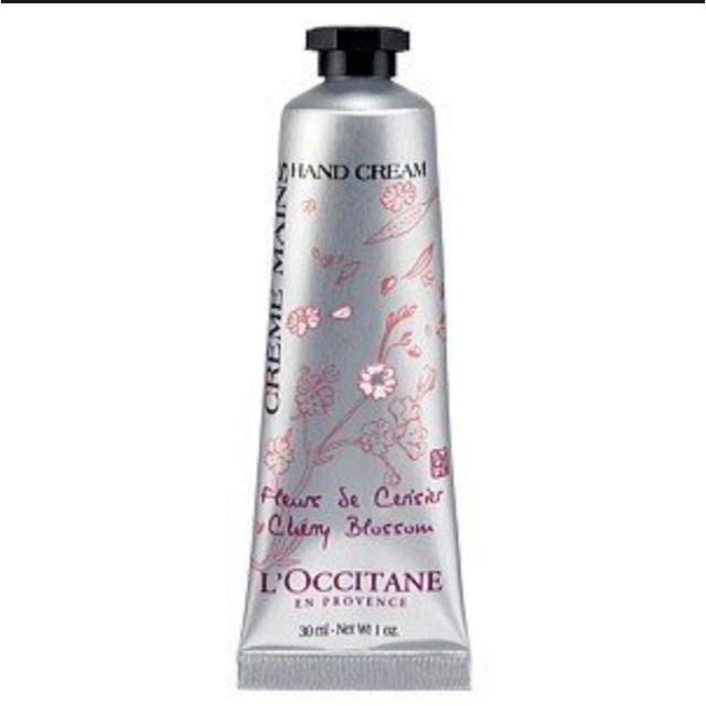 L'OCCITANE(ロクシタン)の【新品未使用】チェリーブロッサム ソフトハンドクリーム  コスメ/美容のボディケア(ハンドクリーム)の商品写真