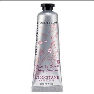 ロクシタン(L'OCCITANE)の【新品未使用】チェリーブロッサム ソフトハンドクリーム (ハンドクリーム)