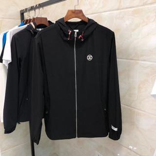 シャネル(CHANEL)のchanelコートのジャケット ブラック メンズXLサイズ(まさ専用)(テーラードジャケット)