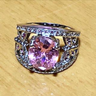 ピンク 指輪 リング(リング(指輪))