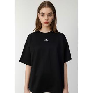 マウジー(moussy)のadidas & Moussy : W CLS SS T MSY ブラックM(Tシャツ(半袖/袖なし))