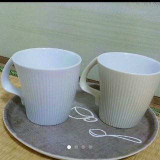 ハクサントウキ(白山陶器)の白山陶器★ストレッチ マグカップ(食器)
