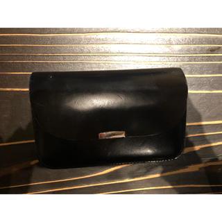 ディガウェル(DIGAWEL)のDIGAWEL ギャルソンパース BLACK(折り財布)